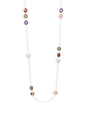 Geometric Single Strand Necklace
