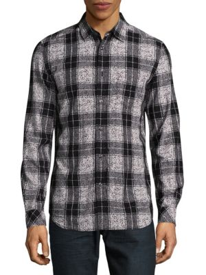 Patterned Button-Down Shirt Diesel
