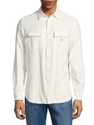 Classic Cotton Shirt Diesel