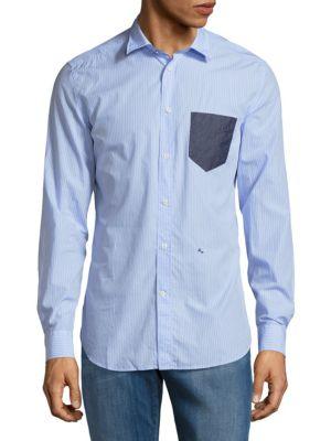 Stripe Cotton Shirt Diesel