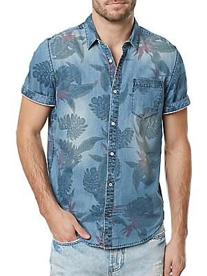 Tropical Chambray Sportshirt