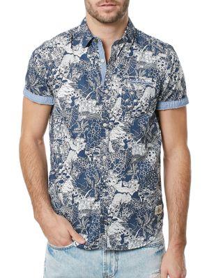 Sidna Cotton Shirt BUFFALO David Bitton