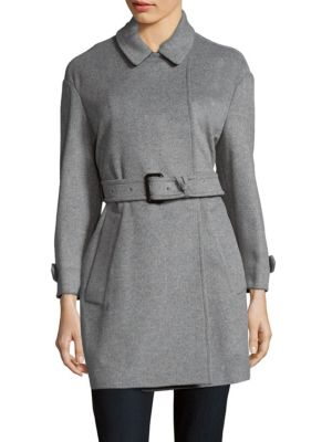 Point Collar Coat Burberry