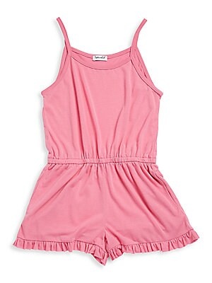 Little Girl's Ruffled Romper