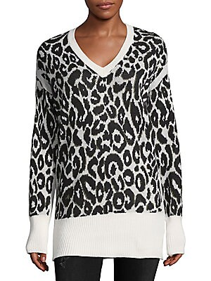 Knit Animal Print Sweater
