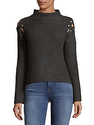 Knitted Highneck Sweater