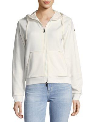 Zip Cotton Jacket Moncler