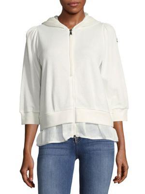 Hooded Zip Cotton Jacket Brunello Cucinelli