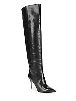 Gianvito Rossi - Vitello Leather Knee-High Boots