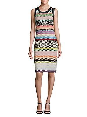 Scale Striped Dress