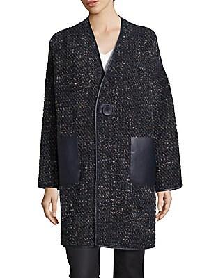 Katya Reversible Galaxy Boucle Coat