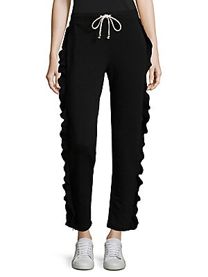Ruffle Sweatpants
