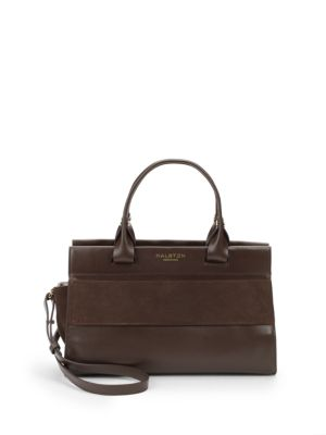 DOUBLE-HANDLE SATCHEL