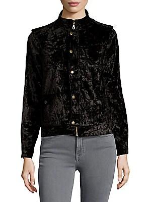 Roslyn Crushed Velvet Jacket