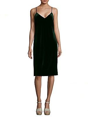 Sydney Knee-Length Velvet Dress