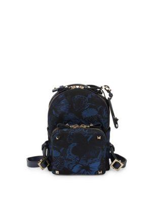 Butterfly Zip Backpack