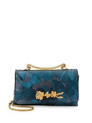 Leather Butterfly Shoulder Bag
