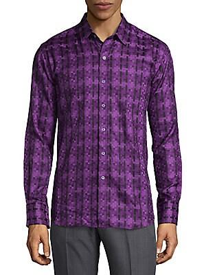 Classic Cotton Button-Down Shirt