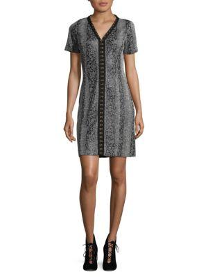Sophia Knit Sheath Dress T Tahari