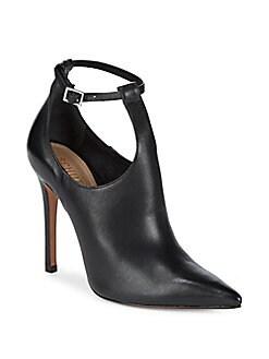 Schutz - Rosaflor Leather Booties