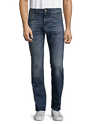 Deconstructed Cotton Jeans