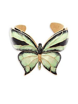 Butterfly Motif Cuff Bracelet