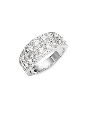 Click here for Double Row Diamond Ring prices