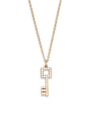 Click here for Diamond Key Pendant Necklace prices