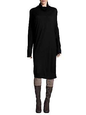 Pullover Long Sleeve Dress