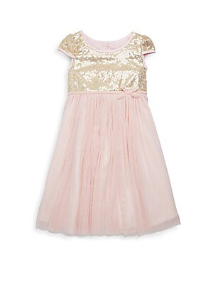 Girl's Lena Sequin Dress