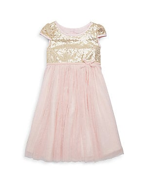 Little Girl's Lena Sequin Dress