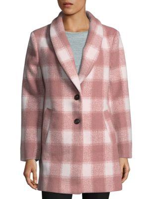 Oversized Checkered Jacket