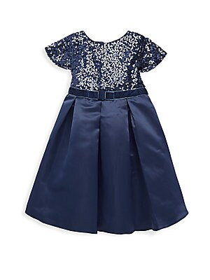 Little Girl's Jennifer Satin Dress
