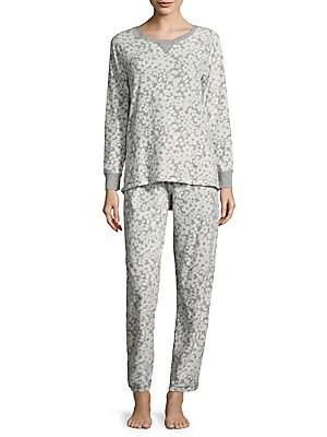Printed Grid Pajamas