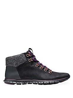 Cole Haan - ZeroGrand Leather & Suede Hiker Boot