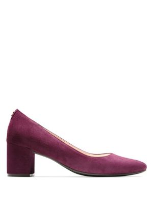 Claudine Suede Pumps