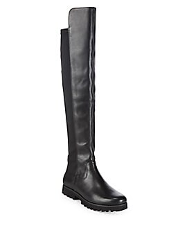 Donald J Pliner - Over-The-Knee Flat Leather Boots