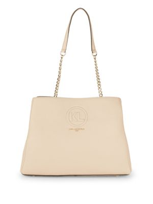 Pebble Chain Tote Bag