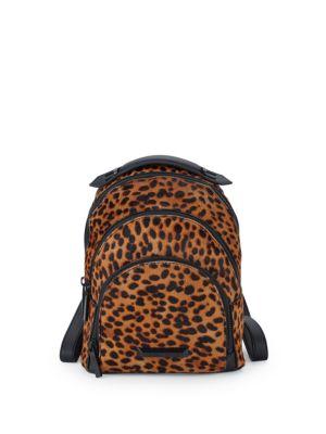 Sloane Leopard Backpack