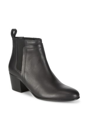 Hallie Leather Ankle Boots