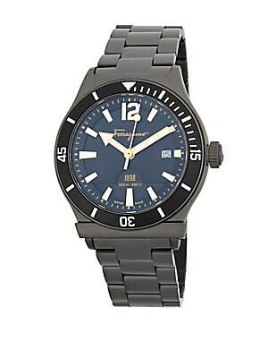 Stainless Steel Link Bracelet Watch