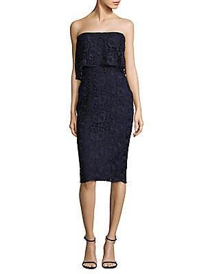 Driggs Lace Sheath Dress