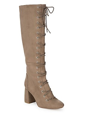 Addison Dream Knee-High Lace-Up Boots