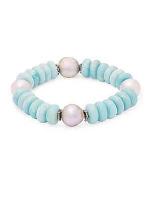Amazonite Roundels Bracelet