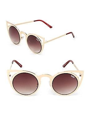 48MM Cat Eye Sunglasses