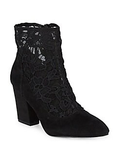 Nine West - Pointed Lace Booties