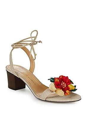 Tropical Tara Block Heels
