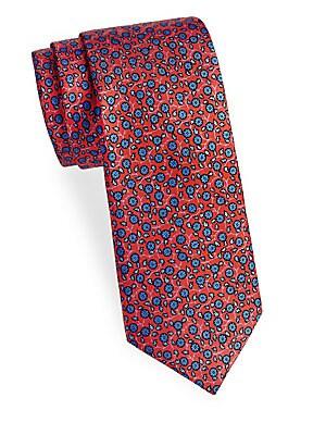 Cutesy Floral Silk Tie