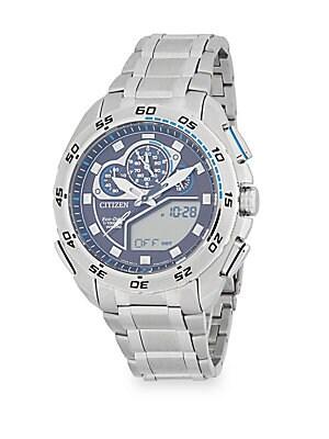 Round Stainless Steel Bracelet Watch