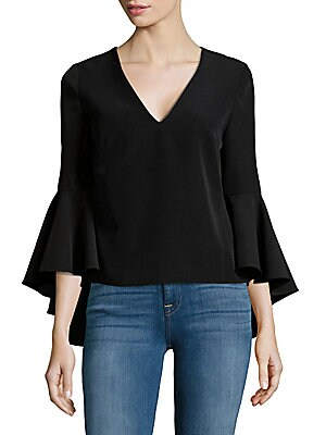 Layered Flare-Sleeve Top